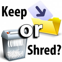 What Papers are Safe to Shred?