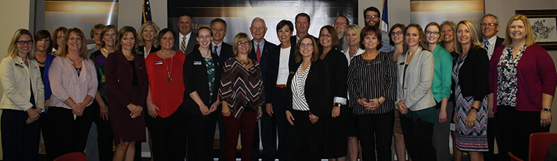 Governor Reynolds Recognized First Citizens Volunteerism