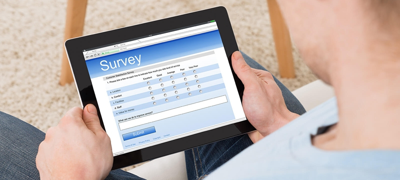 You might be getting an email or phone call about a survey