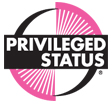 Round Privileged Status logo