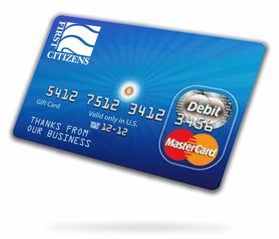 Business Gift Cards | First Citizens Bank