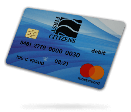 picture of debit card