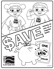 save coloring page preview